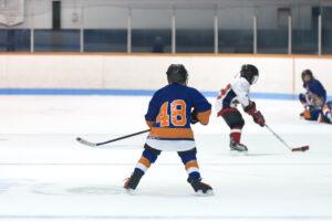 Unga hockeyspelare